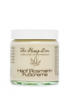 Hemp Rosemary Foot Cream 110 ml